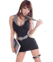 【即納】甘い誘惑の女教師 ブラック コスプレ☆tk-g4063