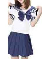 【即納】紺色 JK女学生|制服|セーラー服 コスプレ☆tk-xx8111-1