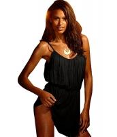 【インポート水着】【ブラック】ビンテージ【ビーチ】サンドレス【ビーチドレス】ビーチグッズ【ビーチファッション】 cc42017-2