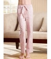 ガーベラインナー ルームウエア 純綿100% パジャマ用パンツ mb10215-2
