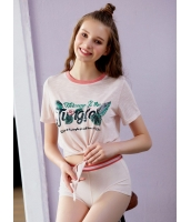 プレミアムガーベラ ルームウェア ラウンドネック Tシャツ mb10330-1