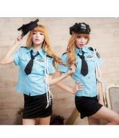 ステージ衣装 婦警 女警官 警察 コスプレ コスチューム ハロウィン仮装 bwn0027-1