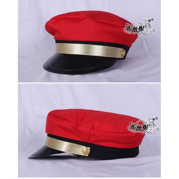警察帽子 スチュワーデス コスプレ小道具 ハロウィン仮装 コスチューム bwn0031-1