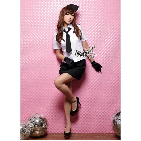 ステージ衣装 婦警 女警官 警察 コスプレ コスチューム ハロウィン仮装 bwn0035-1