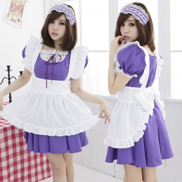 メイドコスチューム セクシーコスプレ ステージ衣装 ハロウィン仮装 bwn0045-5