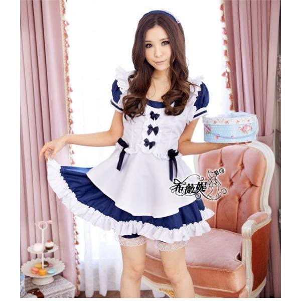 メイドコスチューム セクシーコスプレ ステージ衣装 ハロウィン仮装 bwn0085-1