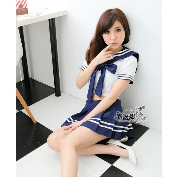 女子高生コスプレ セーラー服 コスチューム ステージ衣装 ハロウィン仮装 bwn0119-1