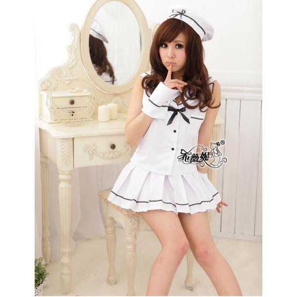 女子高生コスプレ セーラー服 コスチューム ステージ衣装 ハロウィン仮装 bwn0121-1