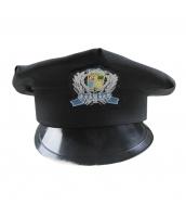 警察帽子 スチュワーデス コスプレ小道具 ハロウィン仮装 コスチューム bwn0158-1