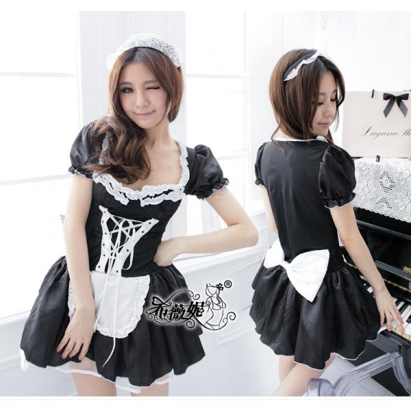 メイドコスチューム セクシーコスプレ ステージ衣装 ハロウィン仮装 bwn0197-1