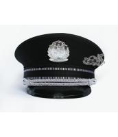 警察帽子 スチュワーデス コスプレ小道具 ハロウィン仮装 コスチューム bwn0217-1