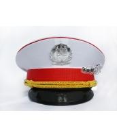警察帽子 スチュワーデス コスプレ小道具 ハロウィン仮装 コスチューム bwn0218-1