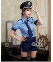 ステージ衣装 婦警 女警官 警察 コスプレ レースクイーン コスチューム ハロウィン仮装 bwn0232-1