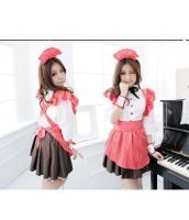 メイドコスチューム ウエイトレス コスプレ ステージ衣装 ハロウィン仮装 bwn0237-1