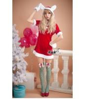クリスマスコスチューム レディースサンタ バニーガール コスプレ bwn0257-1