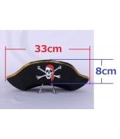 海賊帽子 パイレーツ コスプレ小道具 ハロウィン仮装 コスチューム bwn0292-2