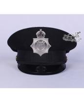 警察帽子 スチュワーデス コスプレ小道具 ハロウィン仮装 コスチューム bwn0320-1