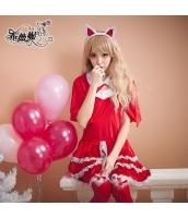 キュート・セクシー にゃんこ/猫・サンタガール サンタクロース クリスマス bwn0353-1