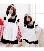 メイド ウェイトレス コスチューム コスプレ ハロウィン 仮装 衣装 5点セット bwn1002-1