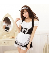 メイド ウェイトレス コスチューム コスプレ ハロウィン 仮装 衣装 5点セット bwn1006-1