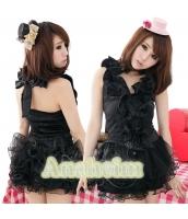 メイド ウェイトレス コスチューム コスプレ ハロウィン 仮装 衣装 3点セット bwn1008-1
