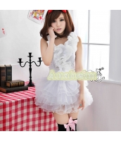 メイド ウェイトレス コスチューム コスプレ ハロウィン 仮装 衣装 3点セット bwn1008-3
