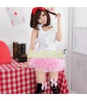 メイド ウェイトレス コスチューム コスプレ ハロウィン 仮装 衣装 3点セット bwn1008-4