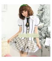 女子高生制服 コスチューム コスプレ ハロウィン 仮装 衣装 4点セット Mサイズ bwn1011-1