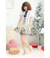 女子高生制服 コスチューム コスプレ ハロウィン 仮装 衣装 4点セット Lサイズ bwn1011-2