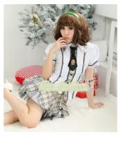 女子高生制服 コスチューム コスプレ ハロウィン 仮装 衣装 4点セット XLサイズ bwn1011-3