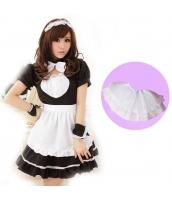 メイド ウェイトレス コスチューム コスプレ ハロウィン 仮装 衣装 6点セット Mサイズ bwn1020-2