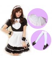 メイド ウェイトレス コスチューム コスプレ ハロウィン 仮装 衣装 7点セット Mサイズ bwn1020-3