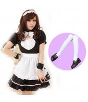 メイド ウェイトレス コスチューム コスプレ ハロウィン 仮装 衣装 6点セット Mサイズ bwn1020-4