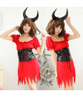 ハロウィン 悪魔 コスチューム コスプレ 仮装 衣装 デビル 2点セット bwn1021-1