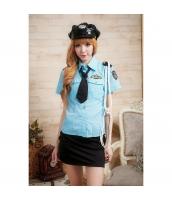 警官 婦警 ポリス 警察 制服 コスチューム コスプレ ハロウィン 仮装 衣装 5点セット bwn1022-2