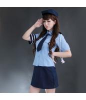 警官 婦警 ポリス 警察 制服 コスチューム コスプレ ハロウィン 仮装 衣装 4点セット Mサイズ bwn1023-1