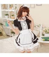 メイド ウェイトレス コスチューム コスプレ ハロウィン 仮装 衣装 4点セット Mサイズ bwn1031-1