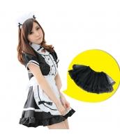 メイド ウェイトレス コスチューム コスプレ ハロウィン 仮装 衣装 5点セット Mサイズ bwn1031-2