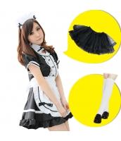 メイド ウェイトレス コスチューム コスプレ ハロウィン 仮装 衣装 6点セット Mサイズ bwn1031-4