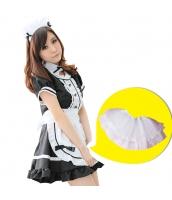 メイド ウェイトレス コスチューム コスプレ ハロウィン 仮装 衣装 5点セット Mサイズ bwn1031-6