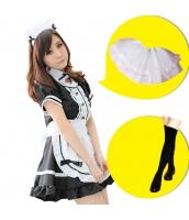 メイド ウェイトレス コスチューム コスプレ ハロウィン 仮装 衣装 6点セット Mサイズ bwn1031-7