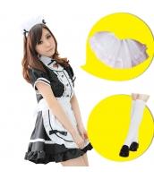 メイド ウェイトレス コスチューム コスプレ ハロウィン 仮装 衣装 6点セット Mサイズ bwn1031-8