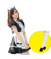 メイド ウェイトレス コスチューム コスプレ ハロウィン 仮装 衣装 5点セット Mサイズ bwn1031-9