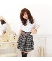 女子高生制服 コスチューム コスプレ ハロウィン 仮装 衣装 3点セット bwn1034-1