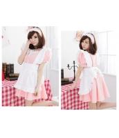 メイド ウェイトレス コスチューム コスプレ ハロウィン 仮装 衣装 3点セット Lサイズ bwn1035-7