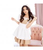 メイド ウェイトレス コスチューム コスプレ ハロウィン 仮装 衣装 3点セット Mサイズ bwn1035-4