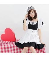 メイド ウェイトレス コスチューム コスプレ ハロウィン 仮装 衣装 3点セット Mサイズ bwn1035-5