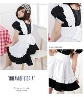 メイド ウェイトレス コスチューム コスプレ ハロウィン 仮装 衣装 3点セット XLサイズ bwn1035-15