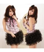メイド ウェイトレス コスチューム コスプレ ハロウィン 仮装 衣装 2点セット XL码サイズ bwn1037-4