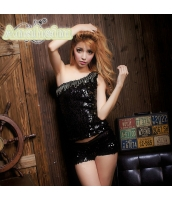 ダンス・ステージ衣装 コスチューム コスプレ ハロウィン 仮装 ポールダンサー衣装 2点セット bwn1040-4